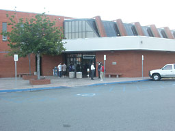Photo of the front of the Juvenile branch office