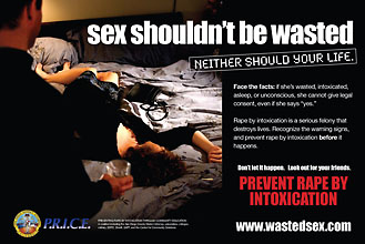 Wasted Sex Postcard Image